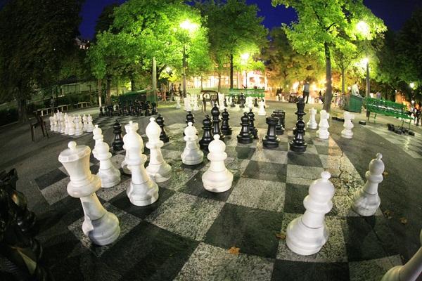Bastions Park in Geneva