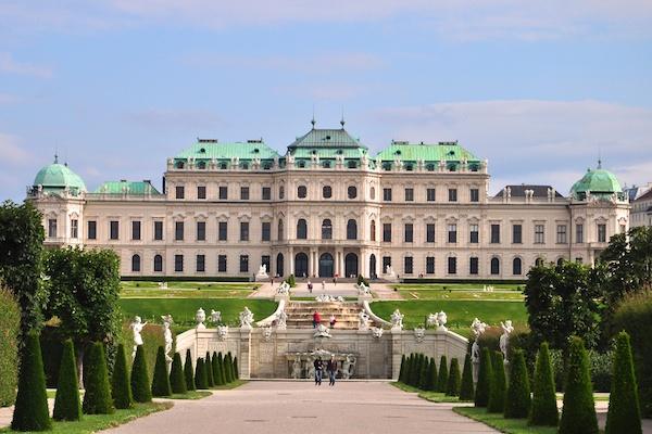 Belvedere Complex in Vienna