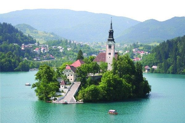 Church on Bled Island