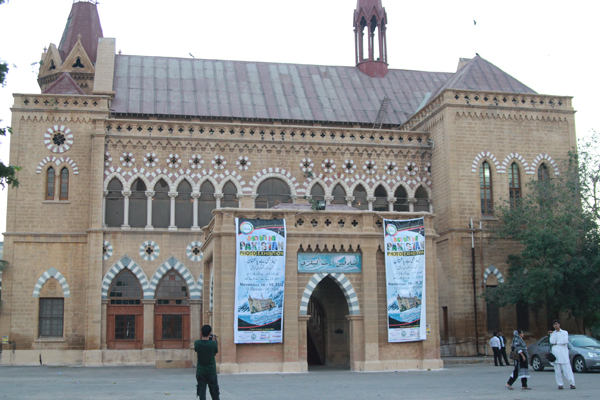 Frere Hall in Karachi
