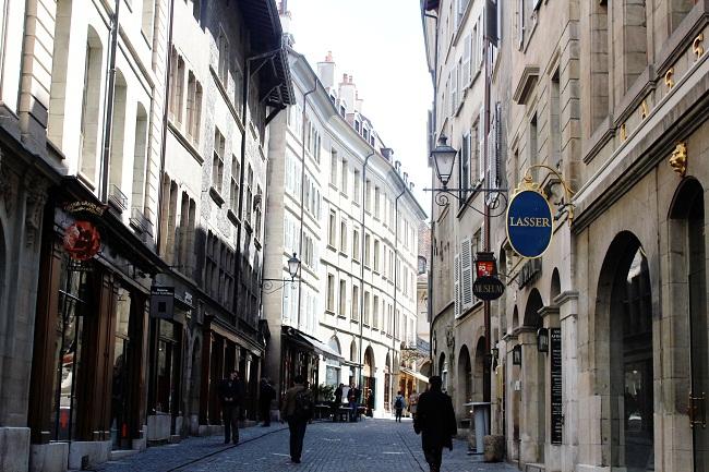 Old Town in Geneva