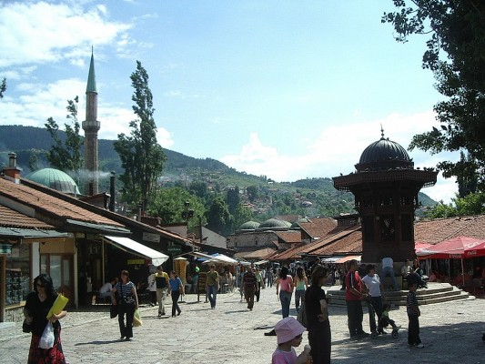 Sebilj_fountain_Sarajevo