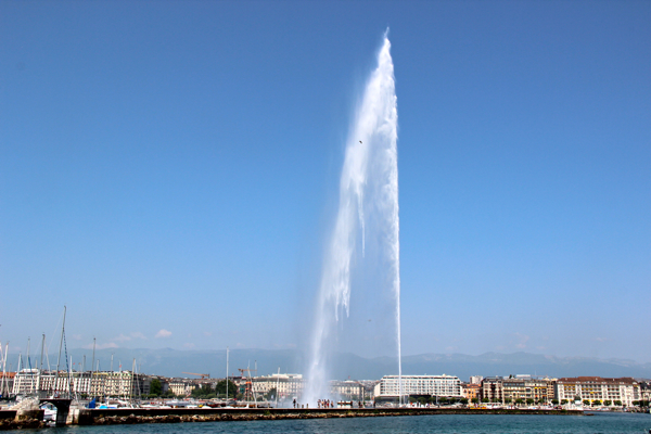 Jet D'Eau Fountain