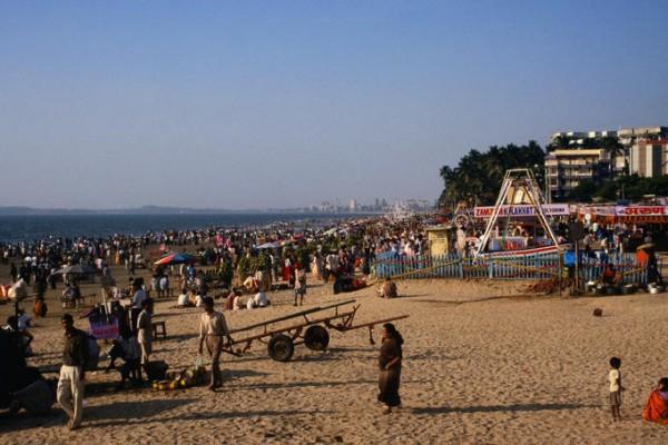 Juhu and Chowpatty Beaches