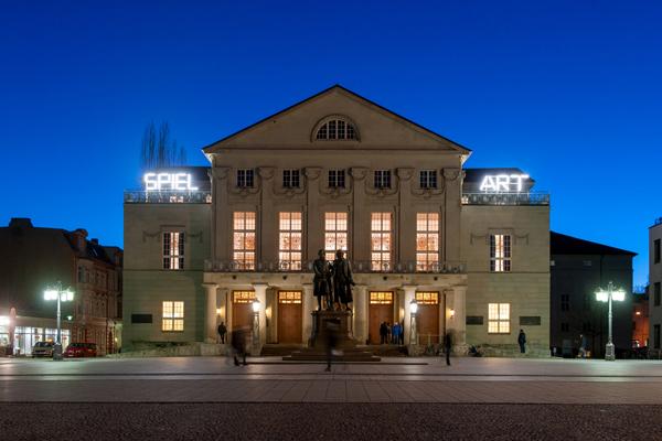 09.02.2014 / Deutsches Nationaltheater und Staatskapelle Weimar / Ansicht / Foto: Thomas Müller