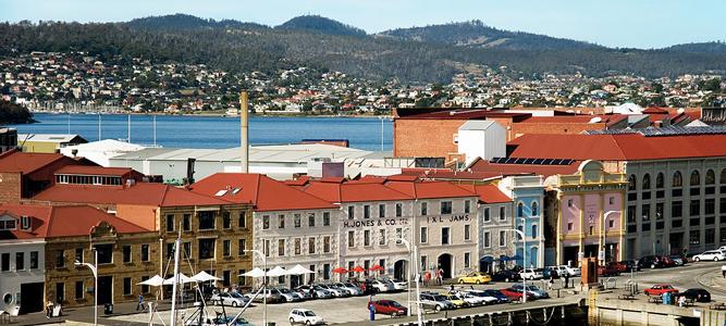 The Henry Jones Art Hotel, Tasmania